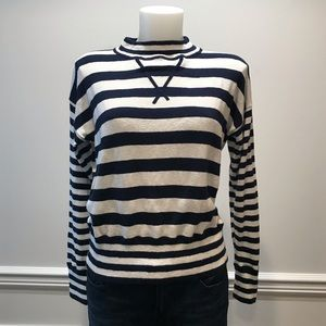 Madenwell striped navy& white sweater